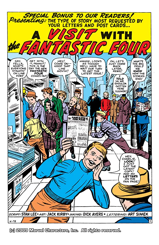 click for super-sized previews of Fantastic Four (1961-1998) #11