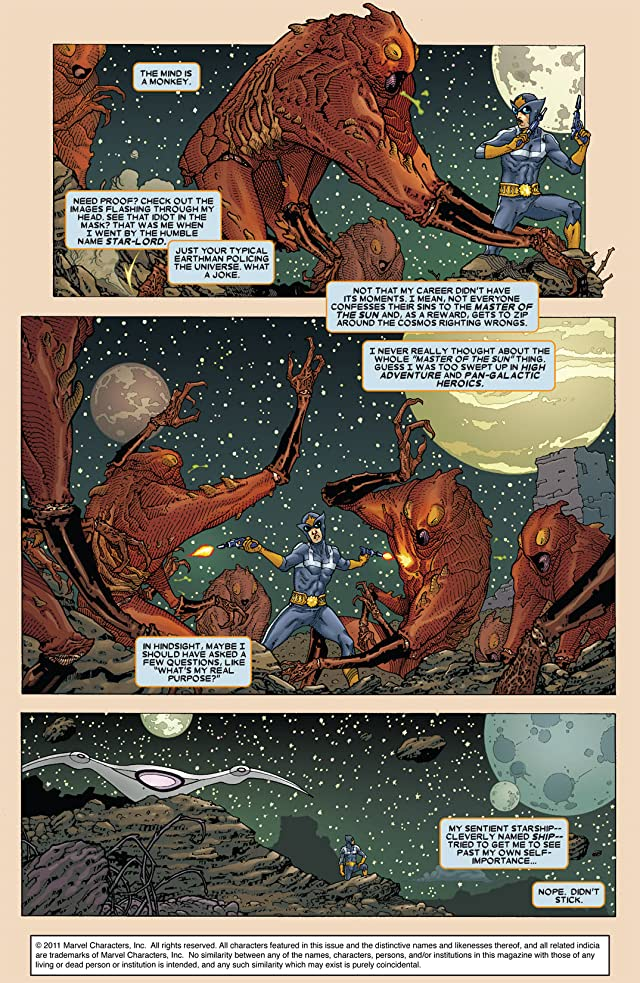 click for super-sized previews of Annihilation: Conquest - Starlord #1
