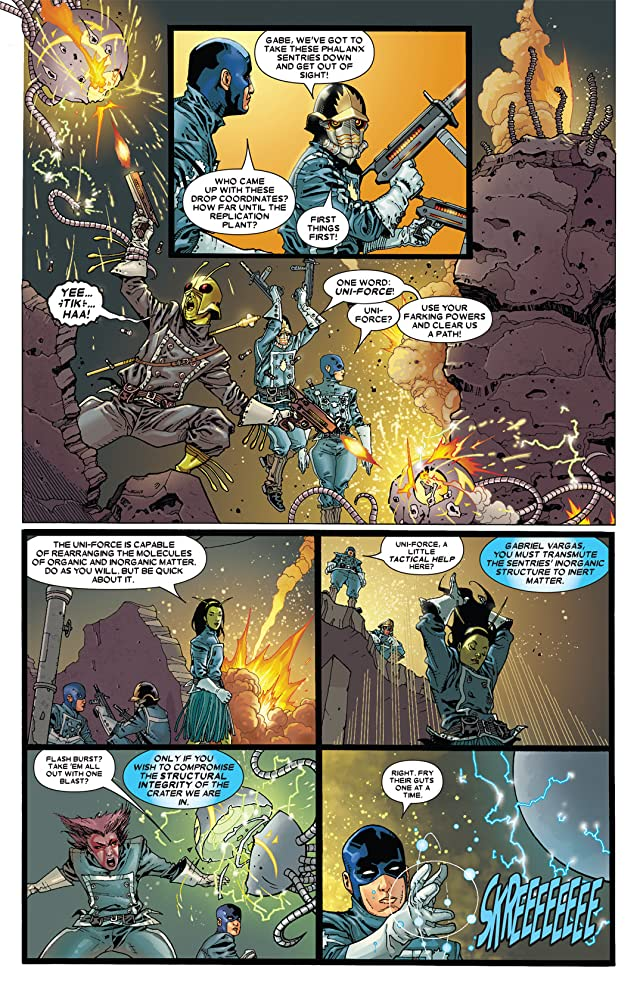 click for super-sized previews of Annihilation: Conquest - Starlord #2