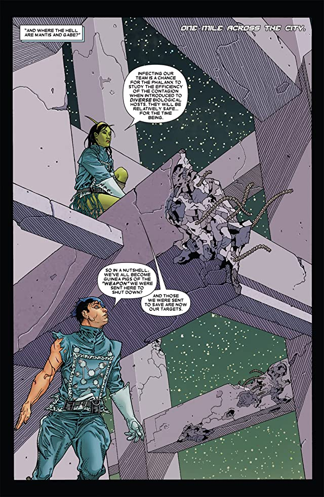 click for super-sized previews of Annihilation: Conquest - Starlord #4