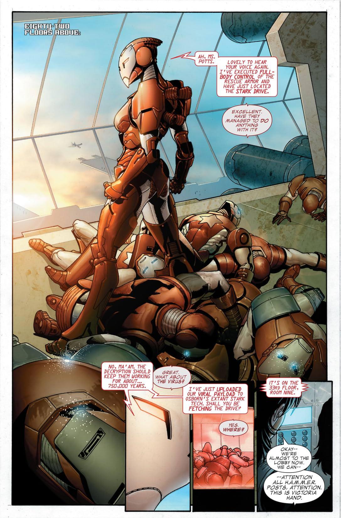 Invincible Iron Man (2008-2012) #19