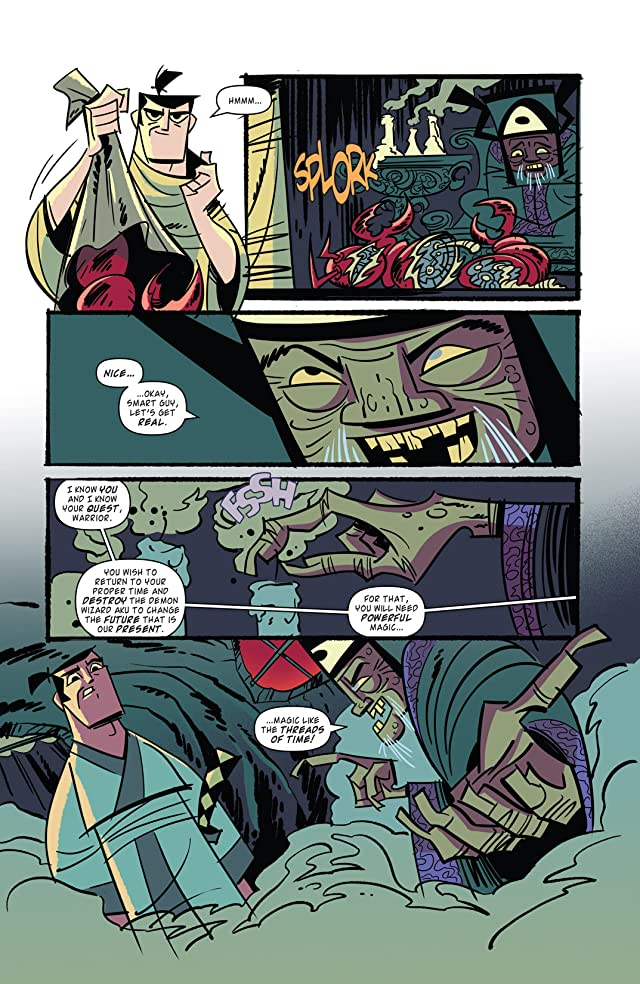 Samurai Jack Vol. 1: The Threads of Time