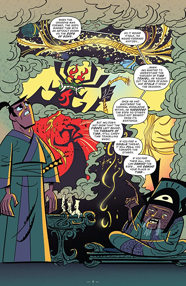 click for super-sized previews of Samurai Jack Vol. 1: The Threads of Time