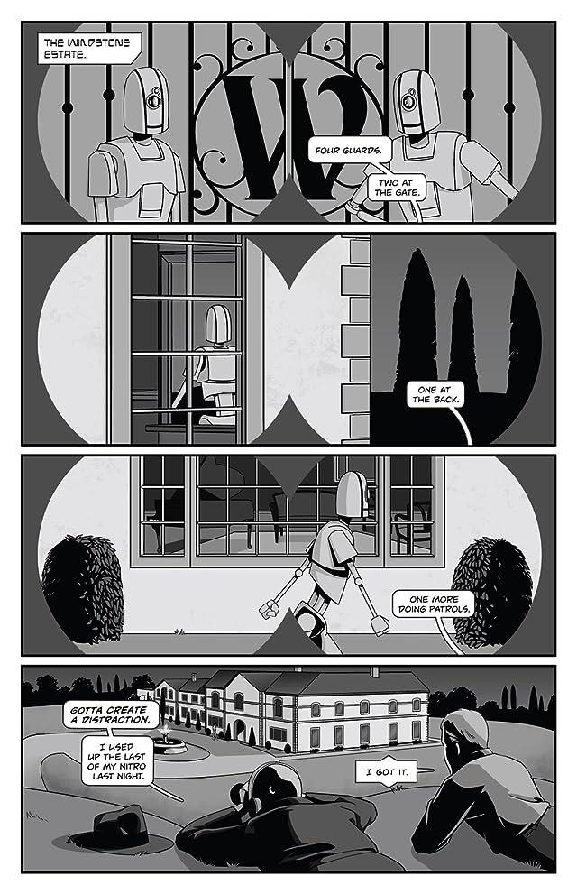 Copernicus Jones: Robot Detective #4