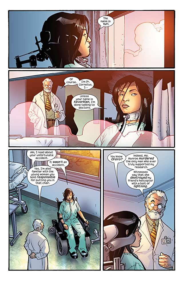 click for super-sized previews of Ultimate X-Men #60