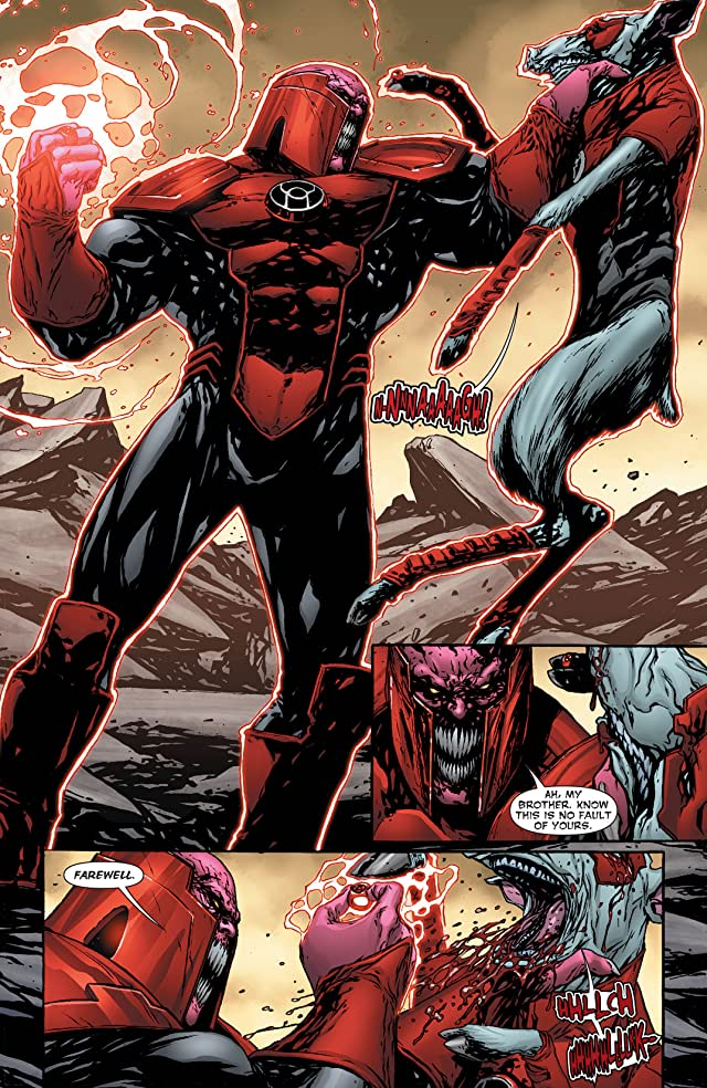 click for super-sized previews of Red Lanterns (2011-2015) Vol. 4: Blood Brothers