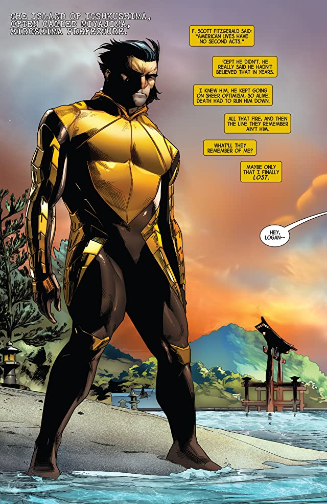 click for super-sized previews of Wolverine (2014-) #8