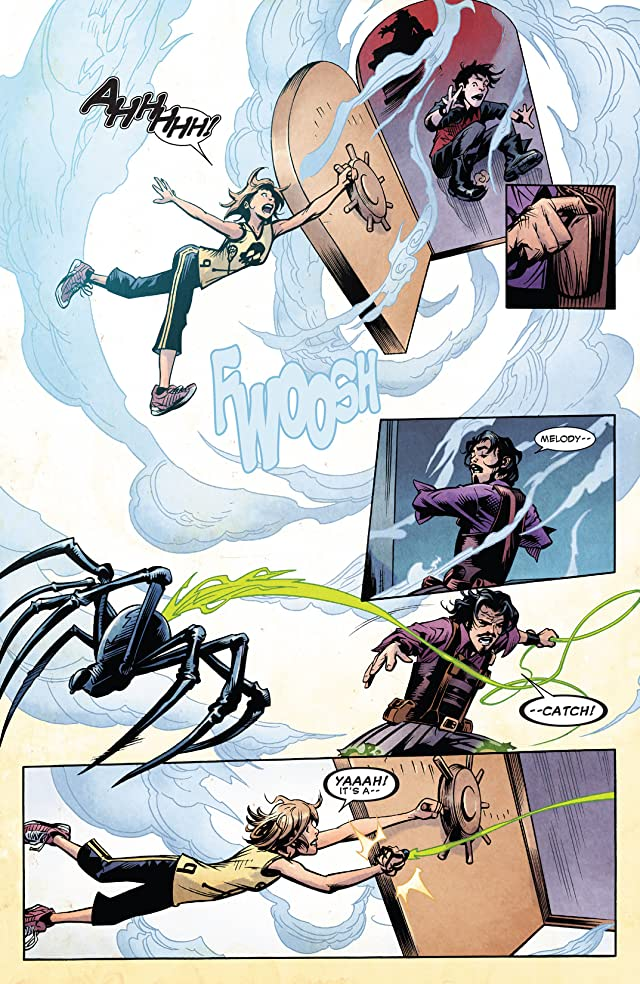 click for super-sized previews of Disney Kingdoms: Seekers Of The Weird #2