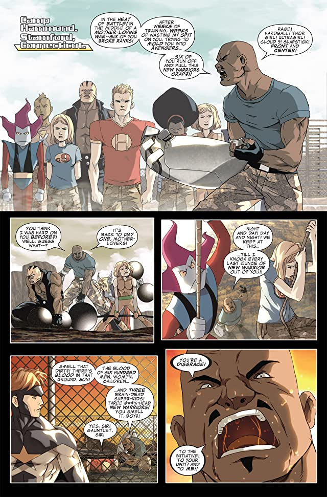 click for super-sized previews of Avengers: The Initiative #6