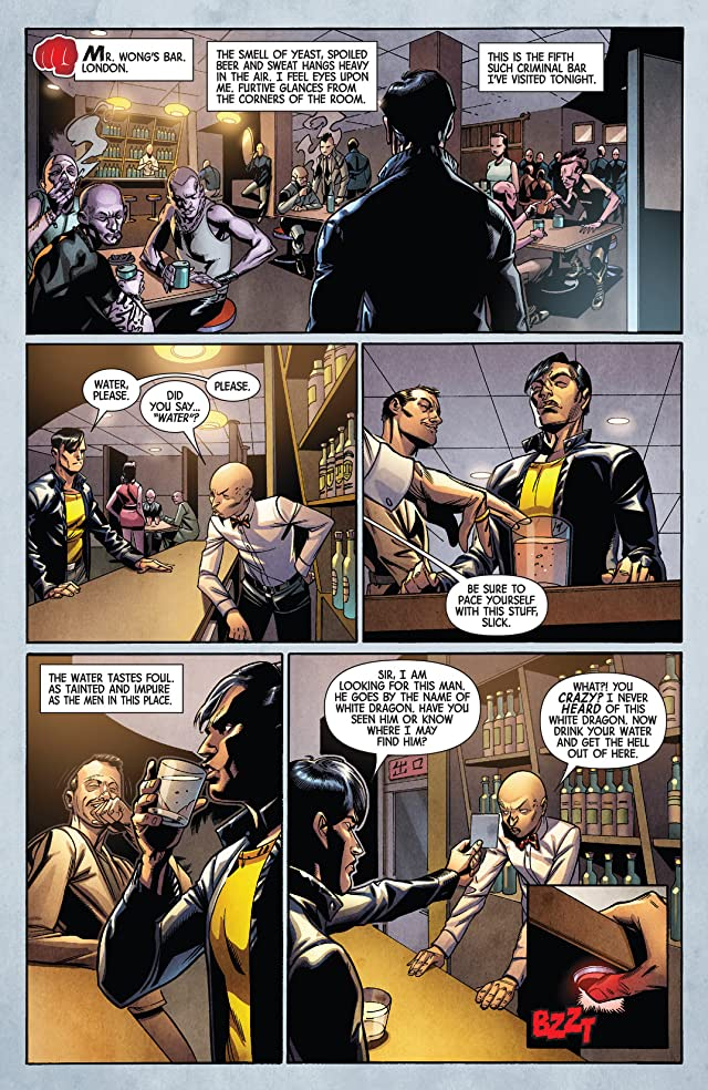 click for super-sized previews of Deadly Hands of Kung Fu (2014-) #2