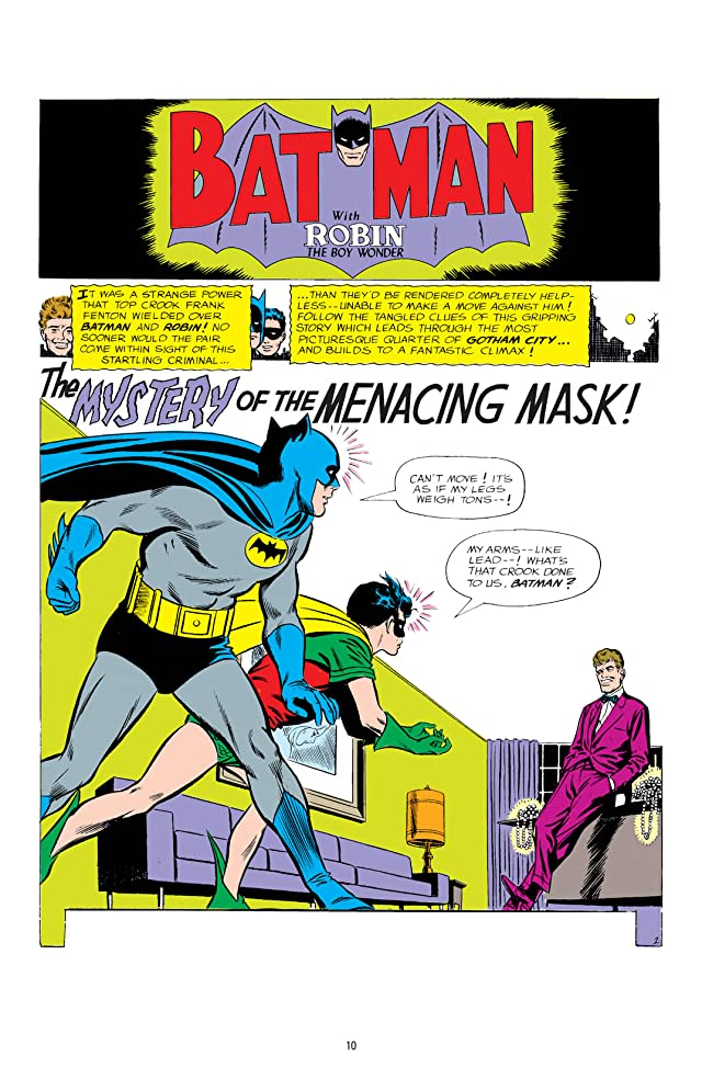 click for super-sized previews of Tales of the Batman: Carmine Infantino