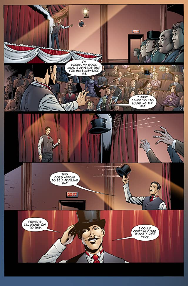 click for super-sized previews of The Gilded Age #1