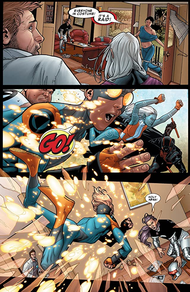 click for super-sized previews of Civil War #1