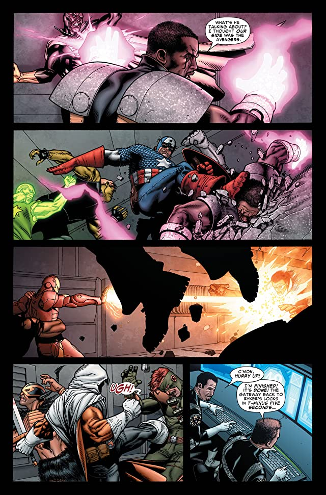 click for super-sized previews of Civil War #7 (of 7)