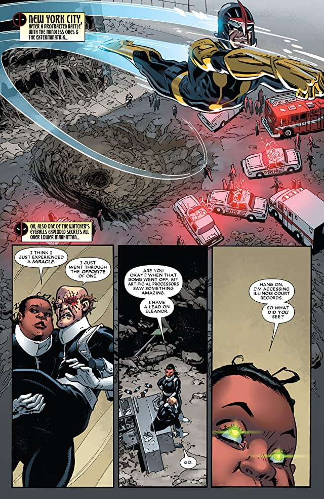 click for super-sized previews of Deadpool (2012-) #30
