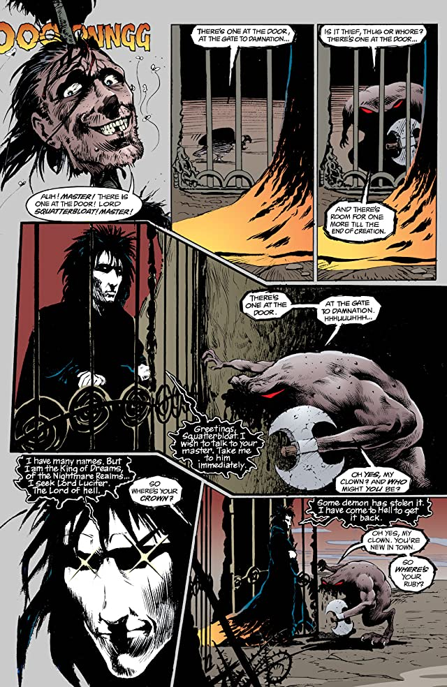 click for super-sized previews of The Sandman #4