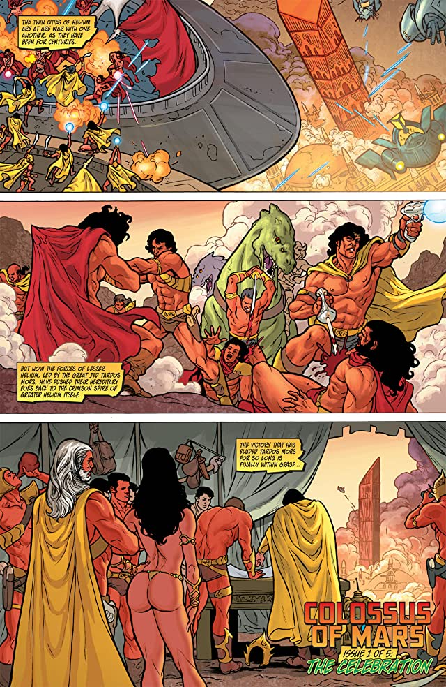click for super-sized previews of Warlord of Mars: Dejah Thoris #1