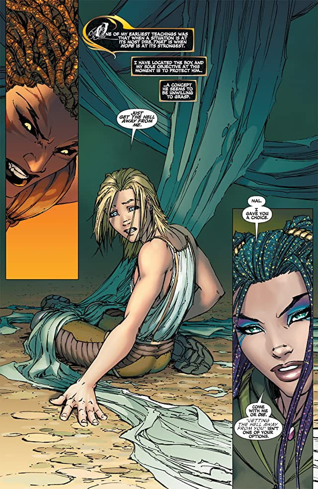 click for super-sized previews of Soulfire #2