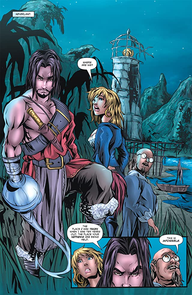 click for super-sized previews of Grimm Fairy Tales Presents: Neverland #3