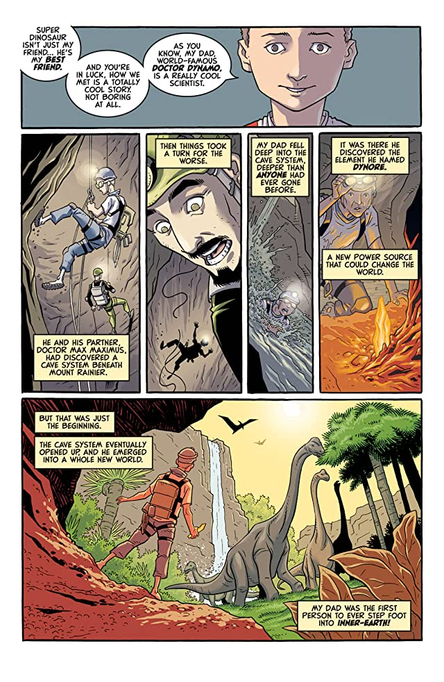 click for super-sized previews of Super Dinosaur Origin Special #1