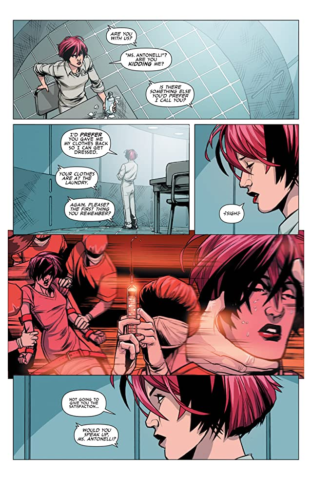 click for super-sized previews of DV8: Gods and Monsters #1