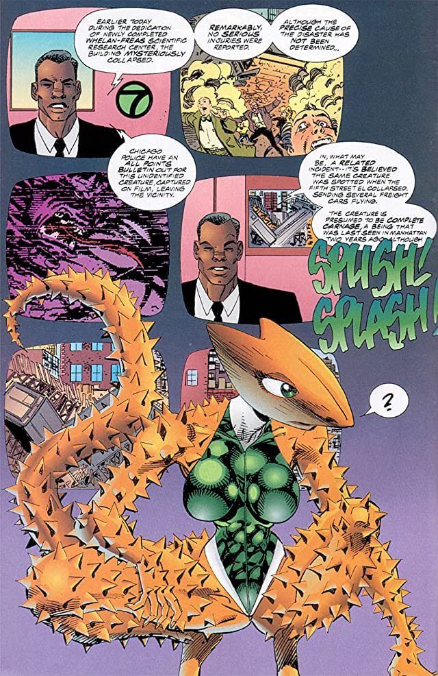 click for super-sized previews of Savage Dragon #22