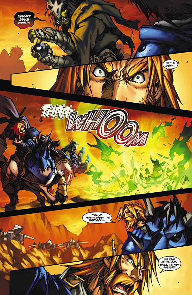 click for super-sized previews of World of Warcraft: Ashbringer #1