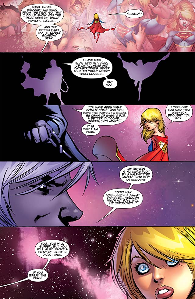 click for super-sized previews of Supergirl (2005-2011) #19