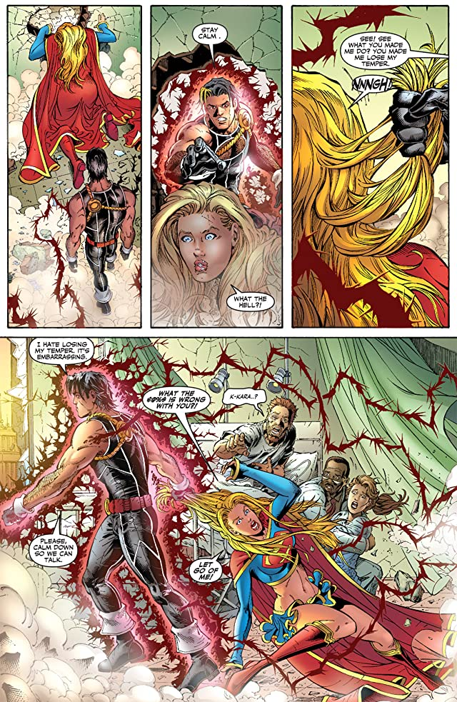 click for super-sized previews of Supergirl (2005-2011) #15
