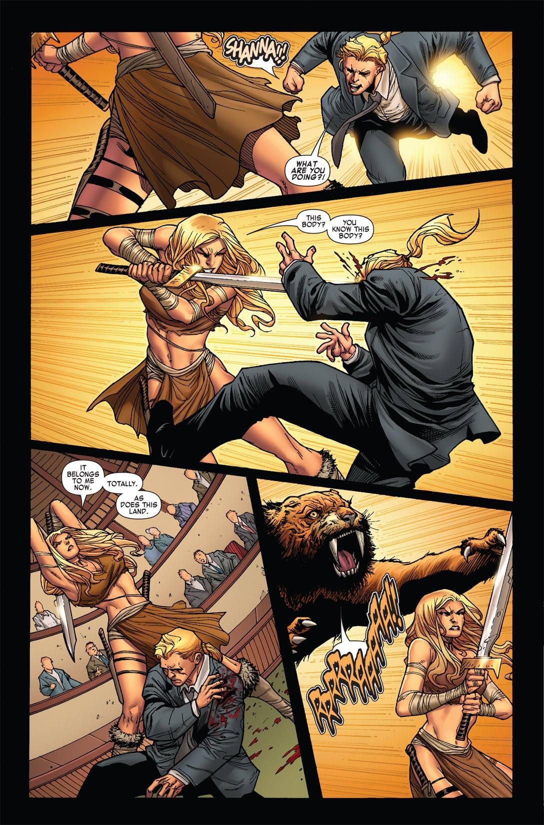 Skaar: King of the Savage Land #2 (of 5)