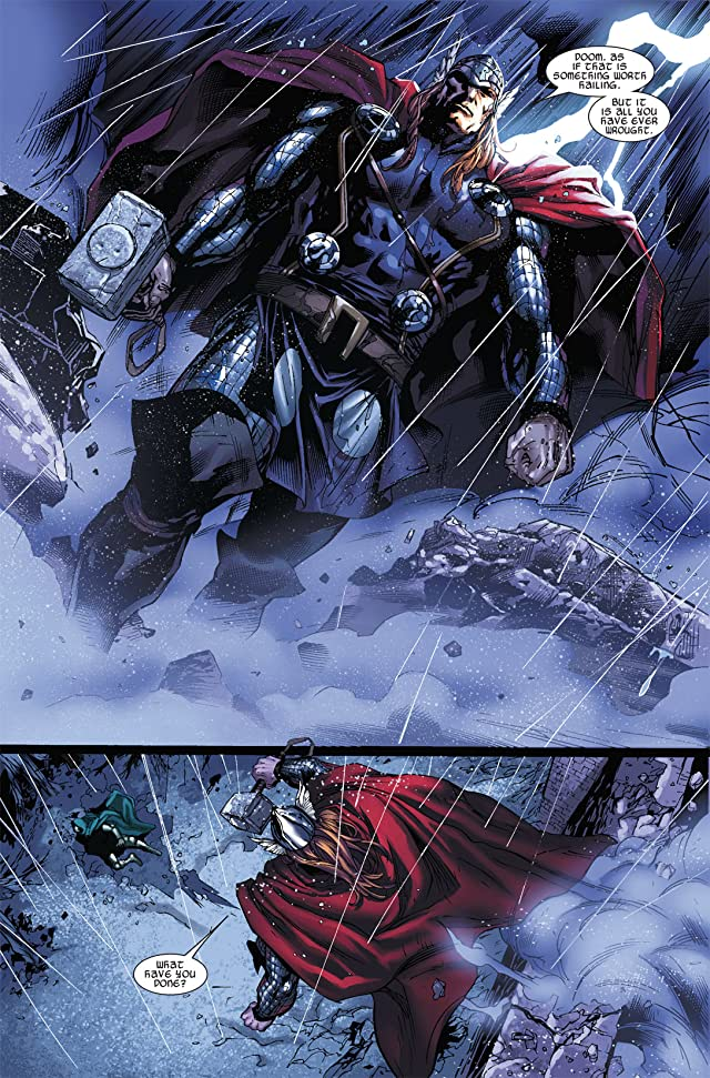 click for super-sized previews of Thor (2007-2011) #605