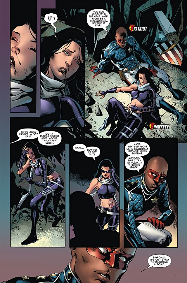 click for super-sized previews of Siege: Young Avengers #1