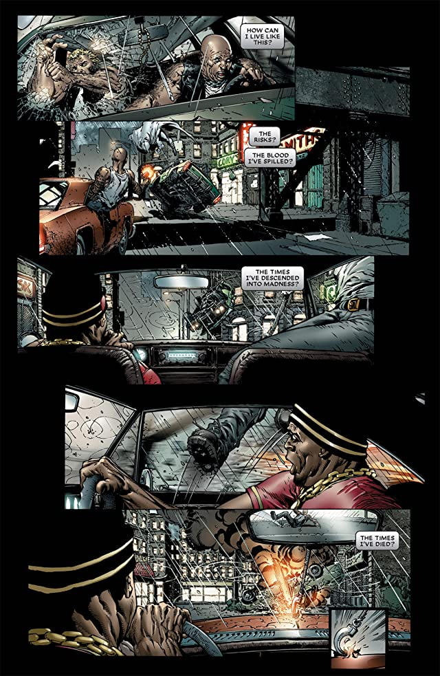 click for super-sized previews of Moon Knight (2006-2009) #1