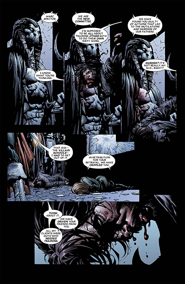 click for super-sized previews of Moon Knight (2006-2009) #5