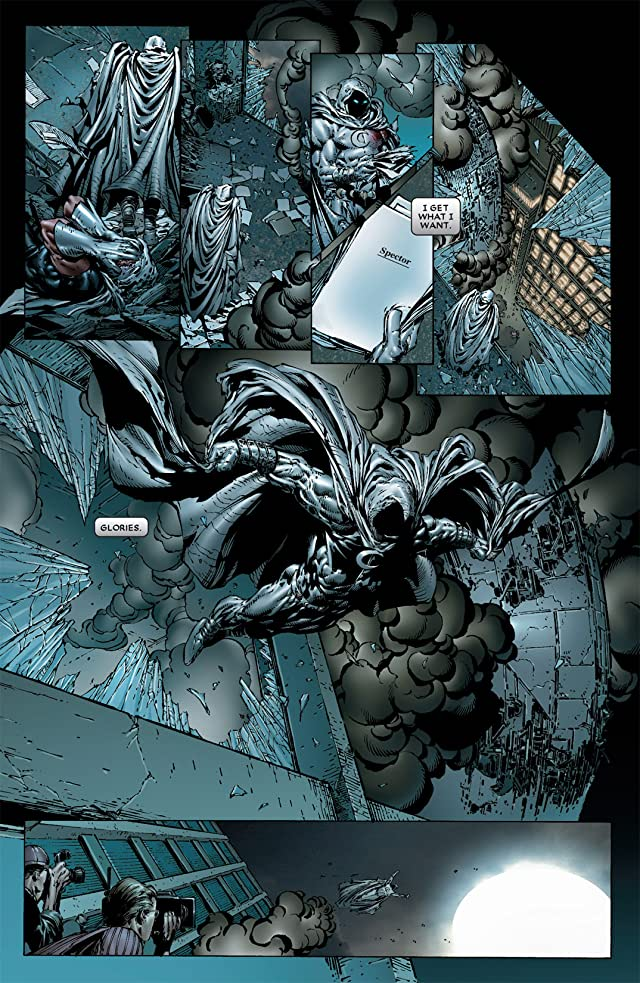 click for super-sized previews of Moon Knight (2006-2009) #6
