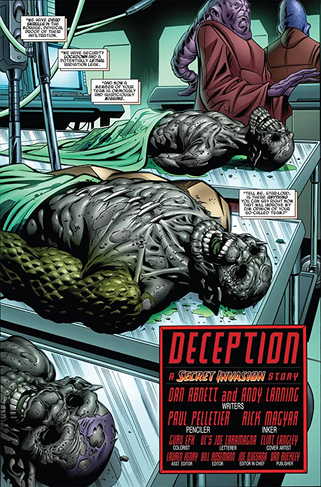 click for super-sized previews of Guardians of the Galaxy (2008-2010) #5