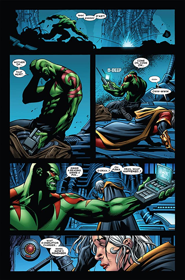 click for super-sized previews of Guardians of the Galaxy (2008-2010) #6