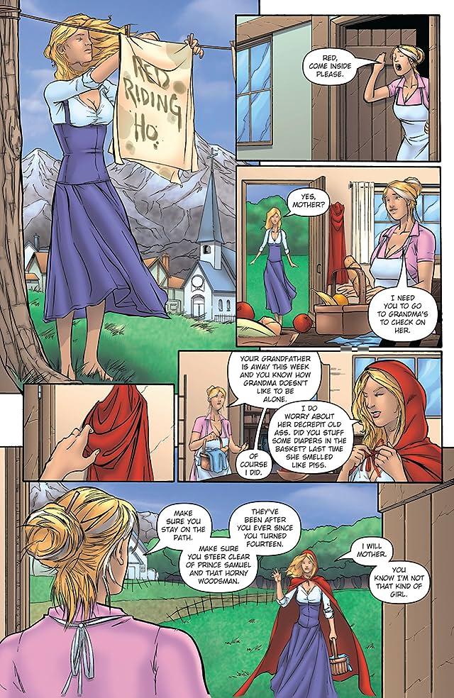 Grimm Fairy Tales #1: April Fools Edition