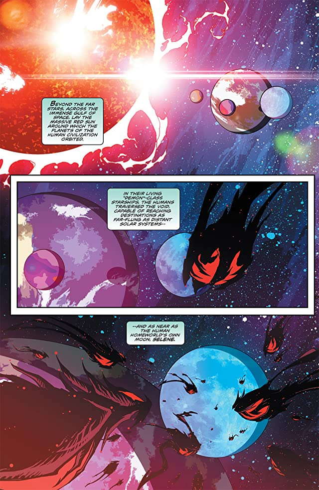 click for super-sized previews of Stan Lee's Starborn #1