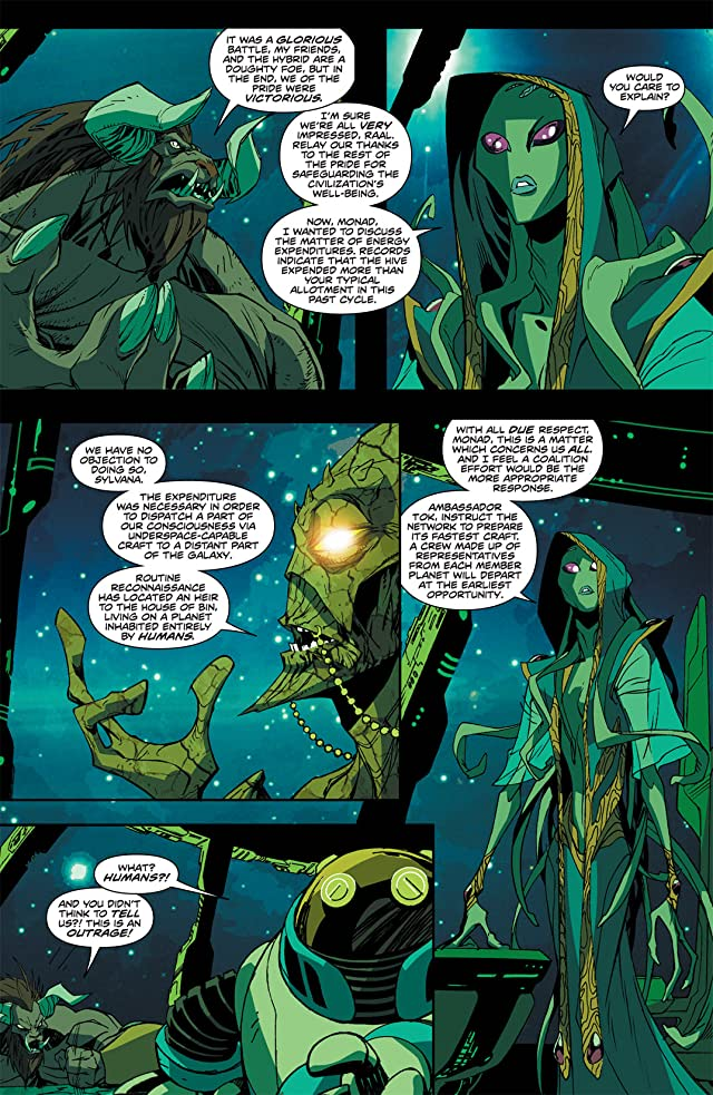 click for super-sized previews of Stan Lee's Starborn #2