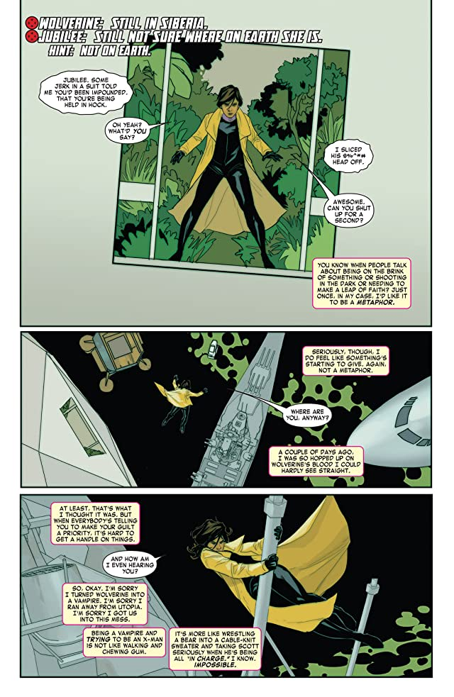 click for super-sized previews of Wolverine & Jubilee #4