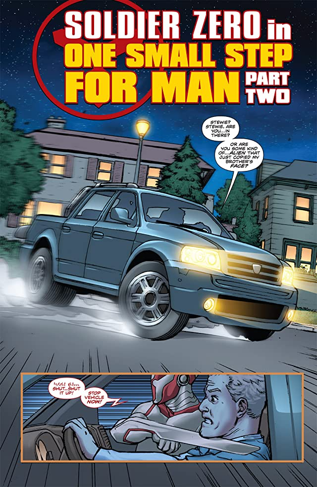 click for super-sized previews of Stan Lee's Soldier Zero #2
