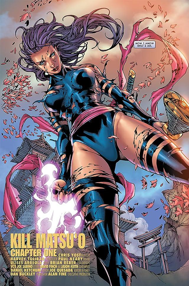 click for super-sized previews of X-Men: Psylocke #1