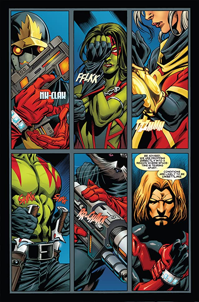 click for super-sized previews of Guardians of the Galaxy (2008-2010) #2