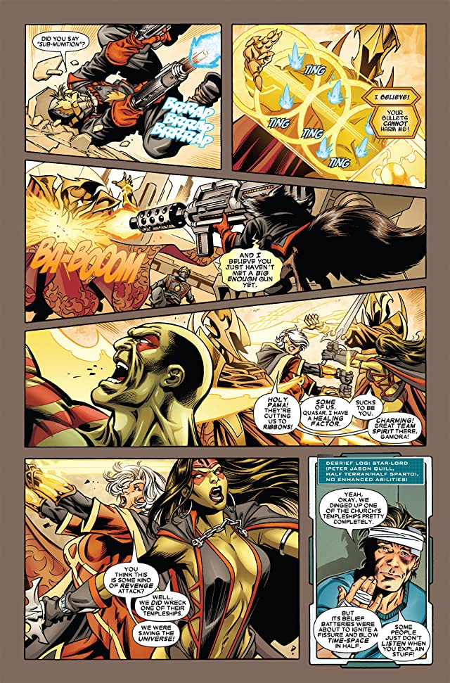 click for super-sized previews of Guardians of the Galaxy (2008-2010) #3