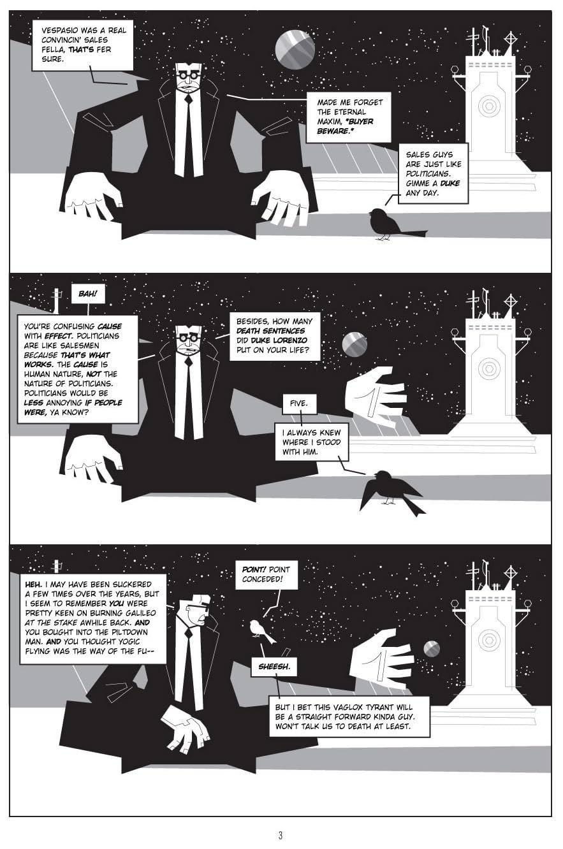Rex Libris #3