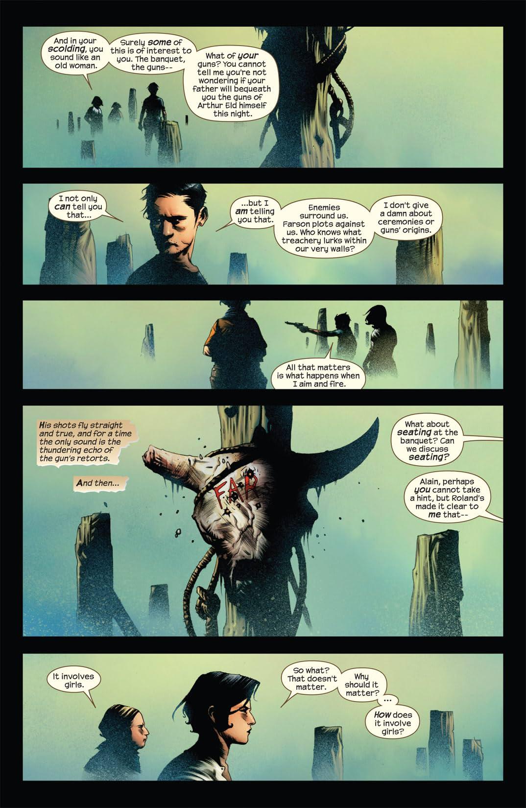 Dark Tower: Treachery #5 (of 6)