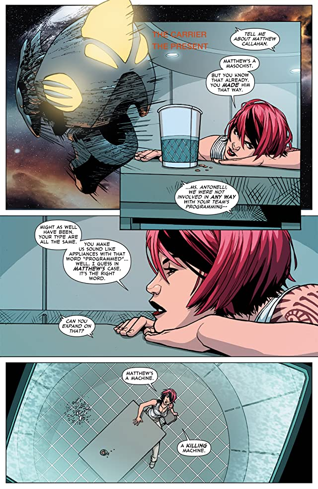 click for super-sized previews of DV8: Gods and Monsters #4