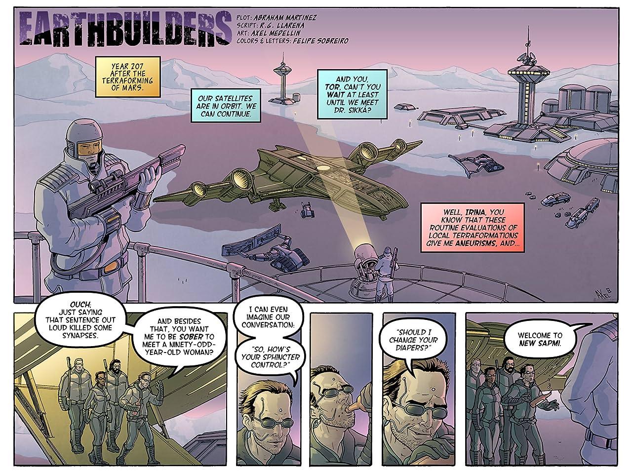 Earthbuilders #1