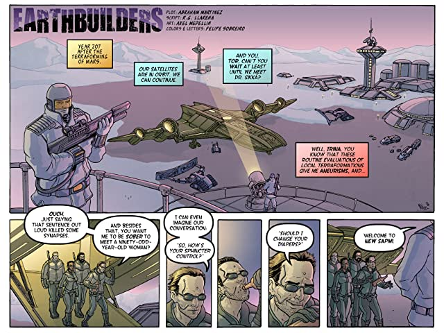 click for super-sized previews of Earthbuilders #1